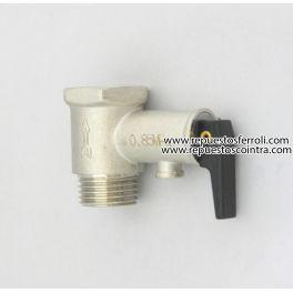 Valvula de seguridad 1 2 coinsat mt s l for Valvula de seguridad termo electrico