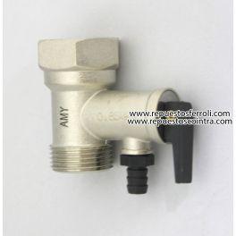 Valvula de seguridad 3 4 coinsat mt s l for Valvula de seguridad termo electrico